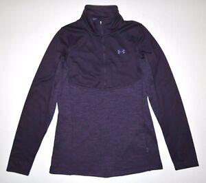 Under Armour Womens UA Gamutlite 1/2 Zip Poly Fleece Pullover Shirt $80