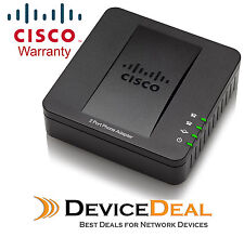 Cisco SPA122 ATA with Router 2x RJ-11 FXS 2x 10/100 WAN