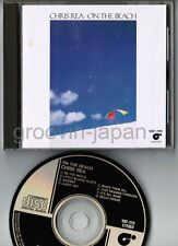 CHRIS REA On The Beach JAPAN CD VDP-1119 w/PS BOOKLET 1986 issue 3,200JPY FreeSH
