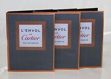 3 Proben Cartier L'Envol de Cartier EDT Eau de Toilette 1,5ml Spray