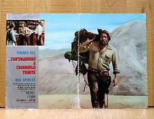 CONTINUAVANO A CHIAMARLO TRINITà fotobusta poster Bud Spencer Western BO44