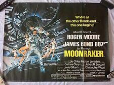JAMES BOND- MOONRAKER 1979  Original UK Quad