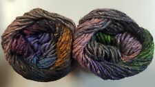 Noro Silk Garden #435 Passage to India Purple Burgundy Green Taupe Pink 50g