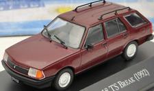 Renault 18 TS Break Wagon 1992 Rare Argentina Diecast Car Scale 1:43 + Magazine