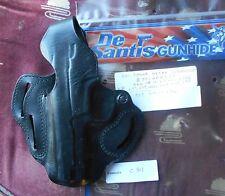 Desantis #001 OWB Leather TB Holster S&W 5904/06,659,639 Black Left Hand C811
