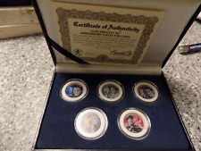 Elvis Presley 50th anniversary collector coin set, New in box