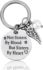 Sisterhood Key Chain Best Friend Gifts for Sister Friendship Keychains