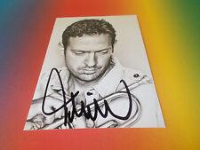 Till Brönner Trompeter JAZZ  signiert signed autograph Autogramm Autogrammkarte