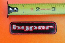 HYPER Wheels Rollerblading Blades Skates Glitter Vintage INLINE Skating STICKER