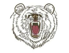 BEAR OUTLINE - 20  MACHINE EMBROIDERY DESIGNS