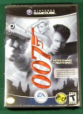 James Bond 007: Everything or Nothing (Nintendo GameCube, 2004) Complete CIB