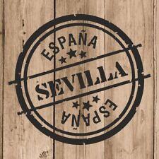 Vinilo de Corte Sevilla Pegatina Sevilla España 10 cm Adhesivo Pared Tablet