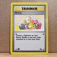 NM Mr Fuji 58//62 Fossil 1st EDITION Pokemon Card