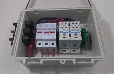 Solar Panel Combiner Box - Fused - 3-String PV Power Combiner - Pre-wired MC4