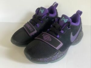 Nike PG Paul George Sz 1 Youth Boy's Basketball Shoes Score In Bunches Purple