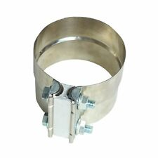 """2.5"""" Stainless Exhaust Band Clamp Step Clamps For Muffler Downpipe Completely"""