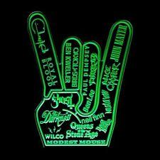 MUSIC ROCK ON BAND HANDS 5 - RGB ACRYLIC LED SIGN