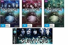 Survivors Series 1-3 Complete DVD Series  Brand New - Region 4