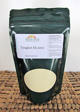 $0.99 = 1 gram Tongkat Ali 200:1 Root Extract Powder (Pasak Bumi) Longjack Gold