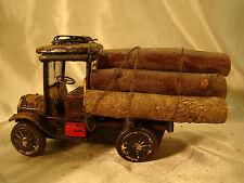 G scale Logging Truck - custom weathered, hand crafted - lot 8