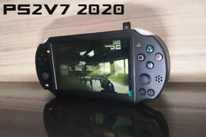 """PS2P Playstation 2 Portable Handheld Game console 7"""" IPS Backlit Ps2 Ps1 psx DIY"""