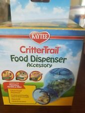 CritterTrail Food Dispenser Accessory For Hamsters, Gerbils or Mice