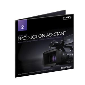 Sony Vegas Pro Production Assistant 2 SVPA2000