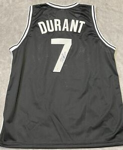 Kevin Durant Signed Brooklyn Nets Basketball Jersey with COA