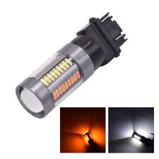 3157 3156 Turn Signal Light Amber & White LED Bulb 6500K replace light 2pcs