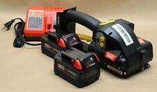 """*NEW* FROMM P-328 1/2"""" 5/8"""" full kit 18V battery strapping tool orgapack signode"""