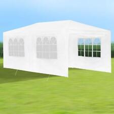 Metall Garten Pavillon 3X6 Weiß Partyzelt wasserdicht Gartenzelt Auto-Garage
