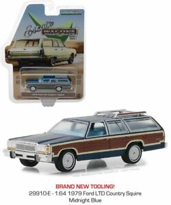 Greenlight 1:64 Estate Wagons 1979 Ford LTD Country Square Diecast Car 29910-E