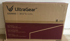 """NEW SEALED LG UltraGear 31.5"""" Class Gaming Computer Monitor 32GN600-B HDR"""