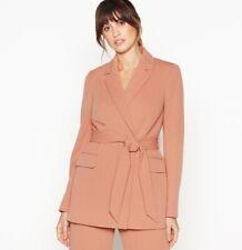 Principles - Dark Tan 'Caramac' Jacket And Trouser Suit Size 12