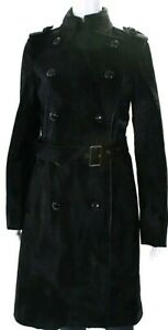 COACH 1941 PONY CALF HAIR FUR Military Double Breasted Coat Tom Ford Rick Owens