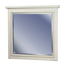 36x30  Antique White Wall Mirror