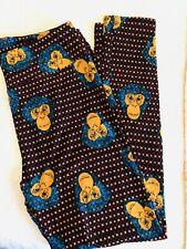LulaRoe TC Leggings Ape Monkey Pattern