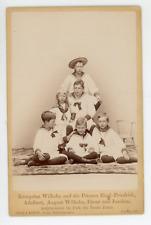 Kronprinz Wilhelm, Prinzen Eithel-Friedrich, Adalbert, August Wilhelm, Oscar & J