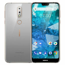 Nokia 7.1 Dual SIM Smartphone Sbloccato Android One - Steel