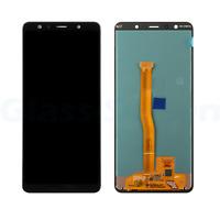 OEM Samsung Galaxy A7 2018 A750 Super AMOLED LCD Screen Digitizer Black