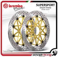 2 discos Freno Brembo Supersport ø310 Suzuki GSX-R (GSXR) 1000 K5/K7 2005>2007