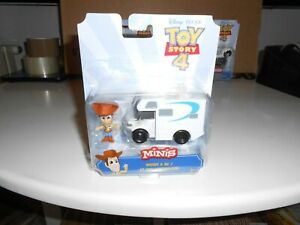 Disney Toy Story Minis WOODY AND CAMPING CAR Figure Set