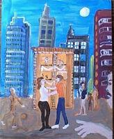 the Bauhaus  Beerhall by William Mayer  New York artist surrealist