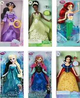 NEW 1:12 scale dollhouse miniature Disney PRINCESS DOLLS 6 pack EMPTY toy boxes