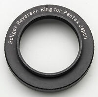 Soligor Reverser Ring Adapter Umkehrring Mount Pentax M42 - 49mm