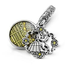 DISNEY-BEAUTY-AND-THE-BEAST-FEATURE CHARM s925 STERLING SILVER