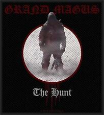 GRAND MAGUS - THE HUNT - WOVEN PATCH - BRAND NEW - MUSIC 2650