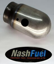 """100LB PROPANE TANK STEEL CAP COVER SAFELY TRANSPORT 3-1/2"""" THREAD CYLINDER"""