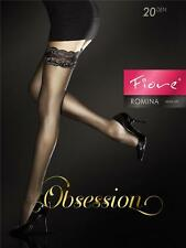 Fiore Strapless Tights Romina Size S-l / 36- 46 Black M