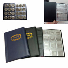 120 Pockets Coin Collection Book Folder 10 Pages Coin Money Storage Holder Album